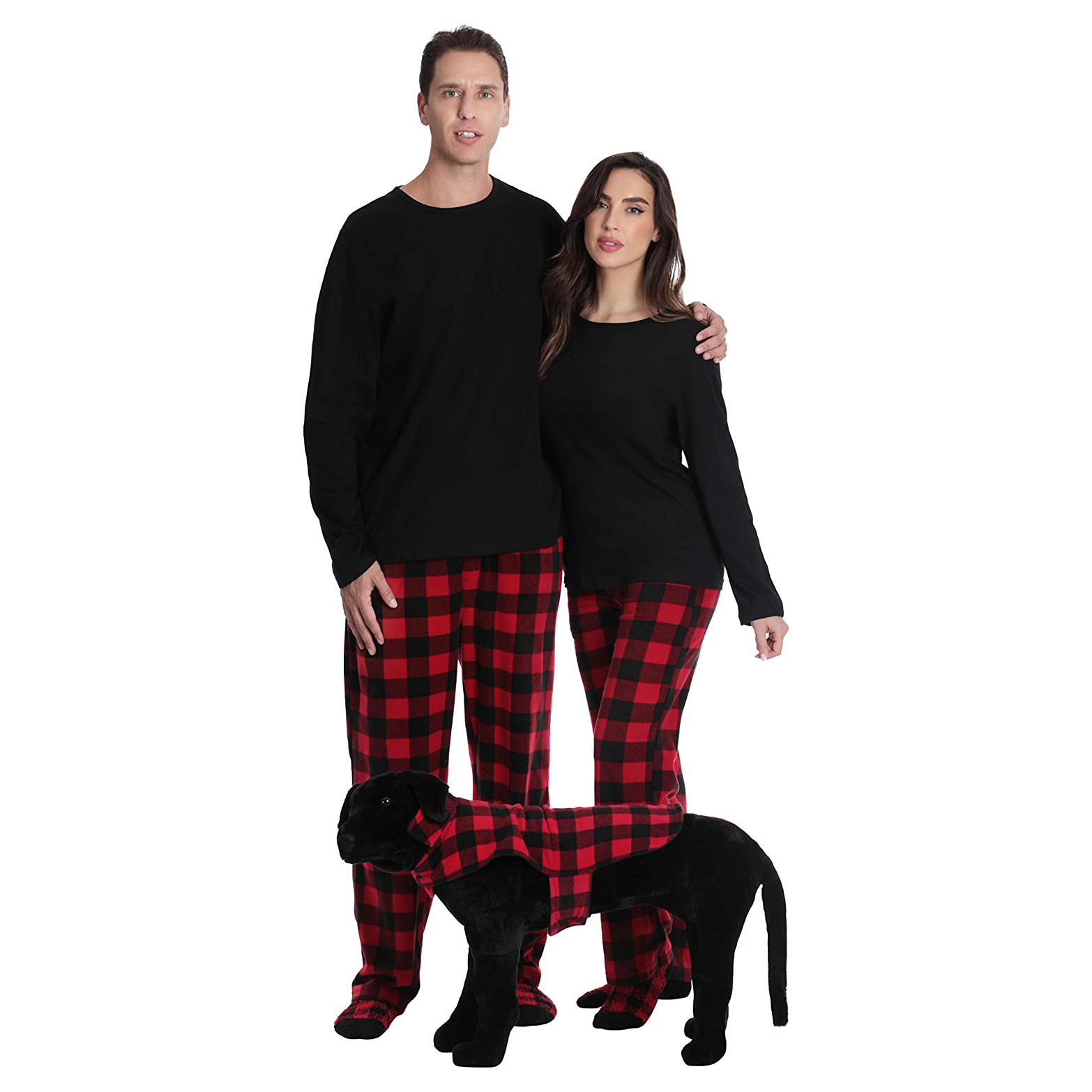 followme-matching-pajamas-for-dog-and-owner