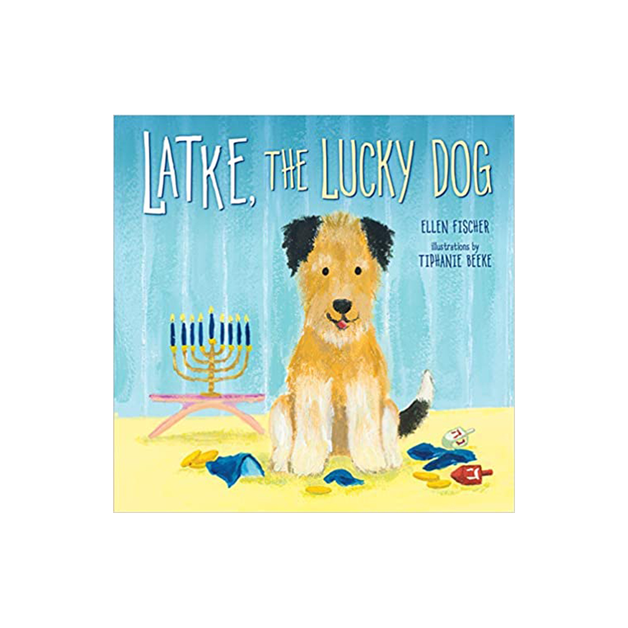 latke lucky dog picture book
