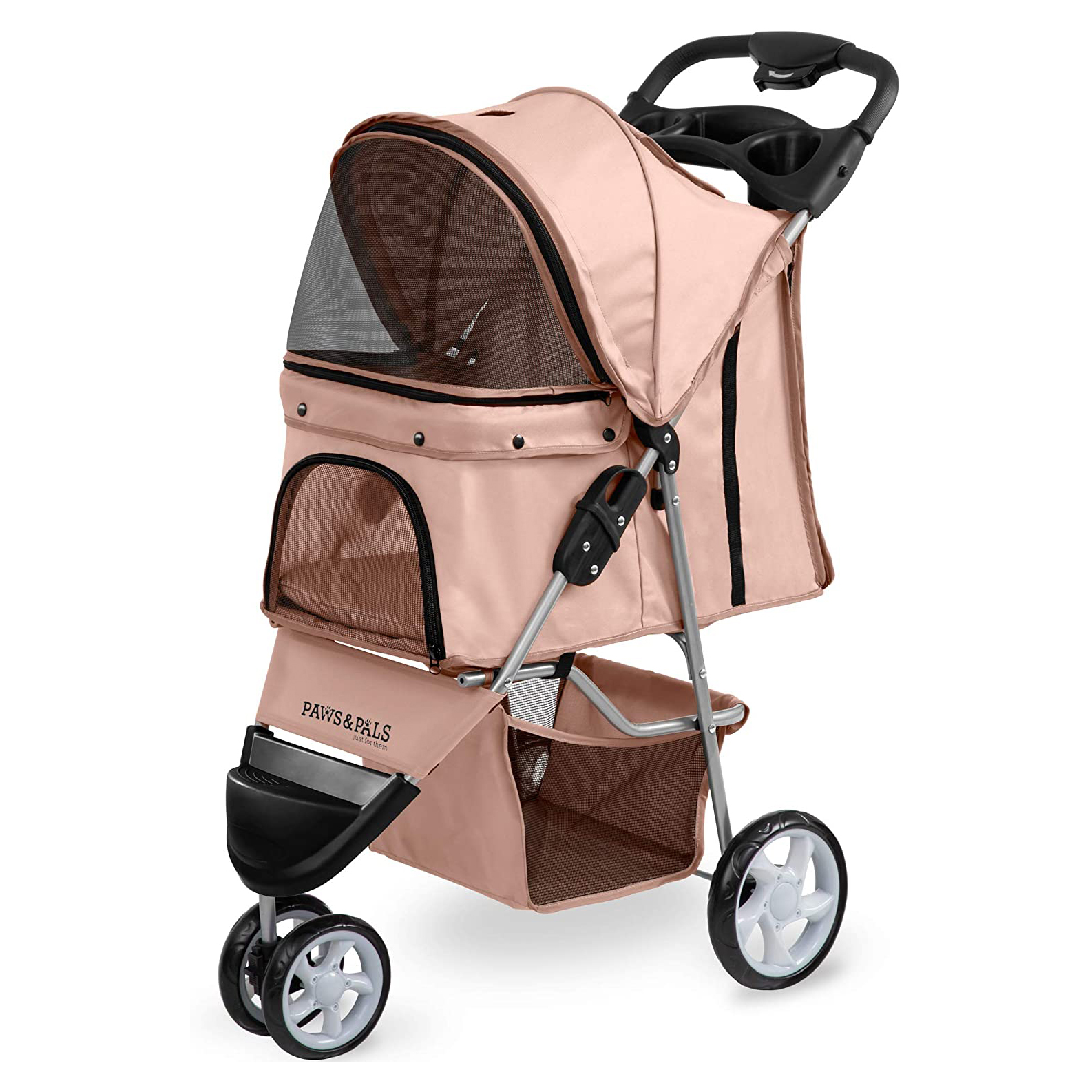 paws-and-pals-dog-stroller-3-wheeler-elite-jogger