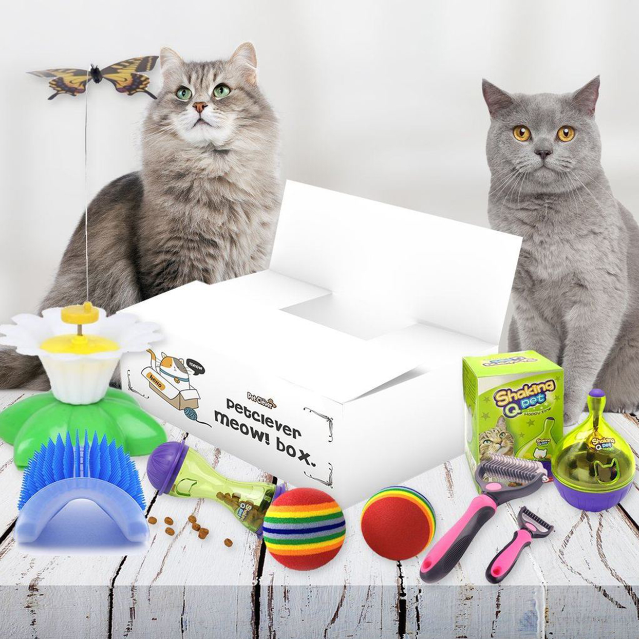 pet clever meow subscription box