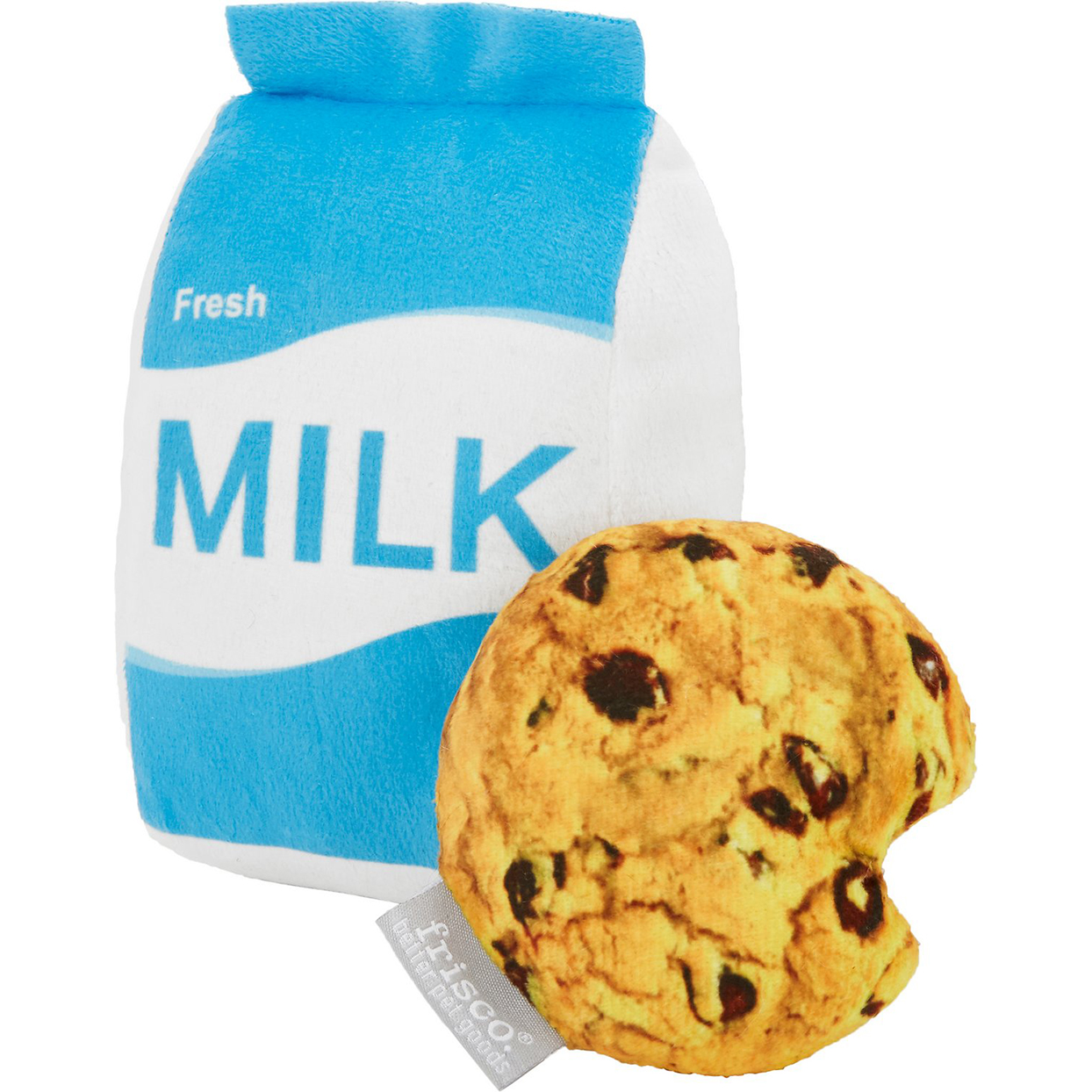 cookie and milk dog toy
