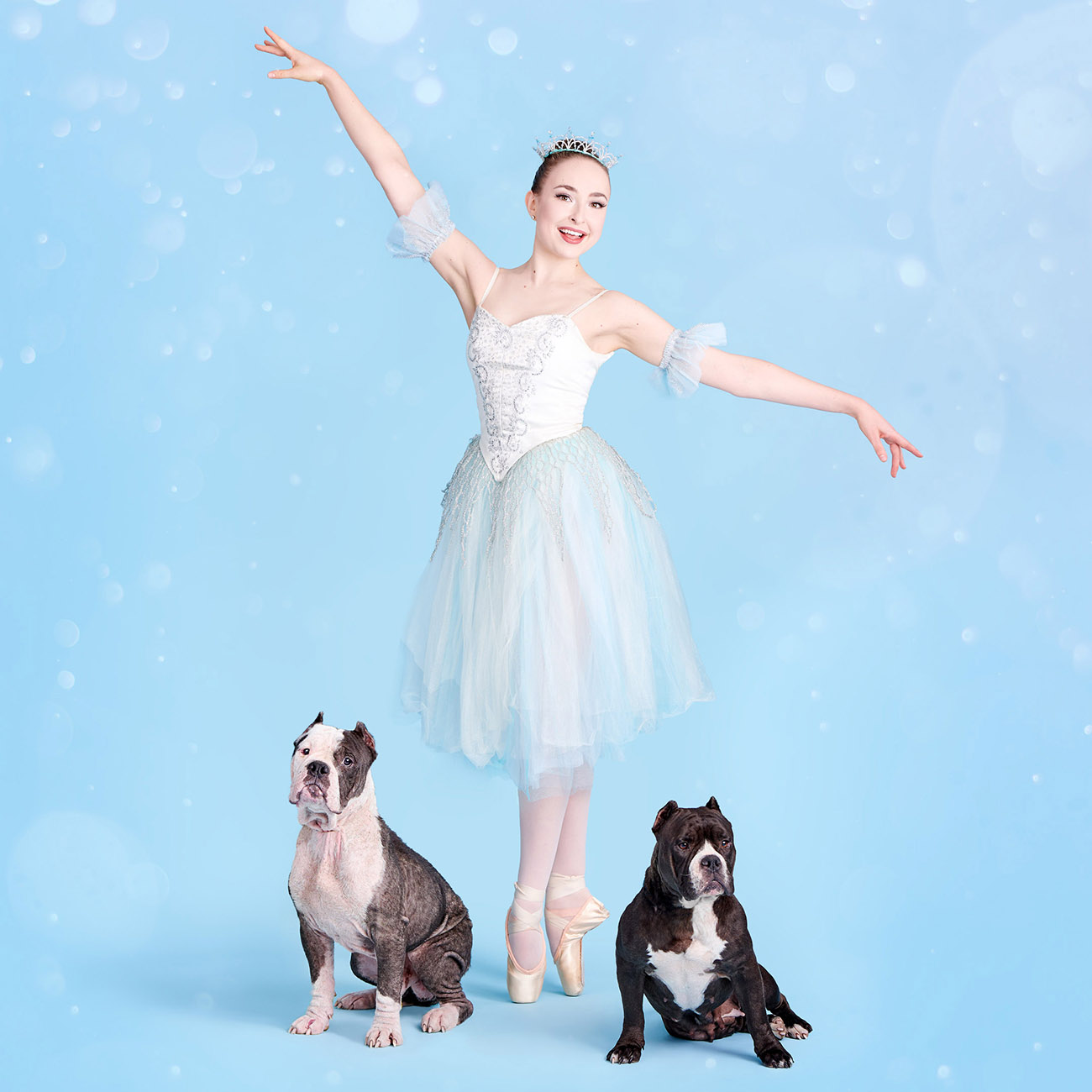 ballerina-with-two-dogs