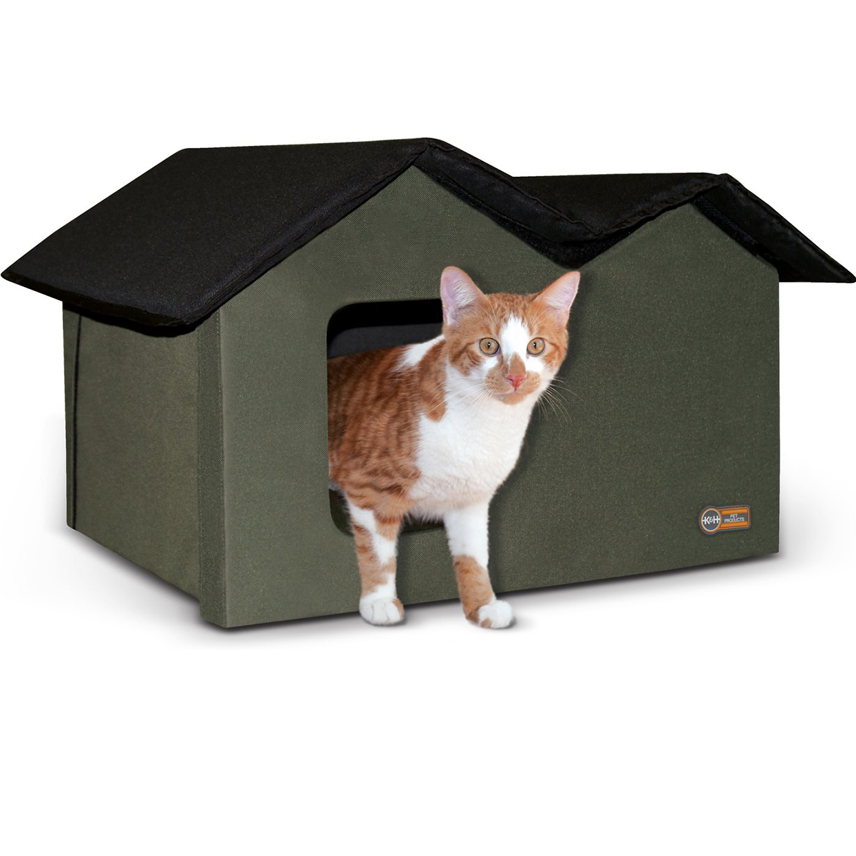k and h pet products outdoor heated cat house