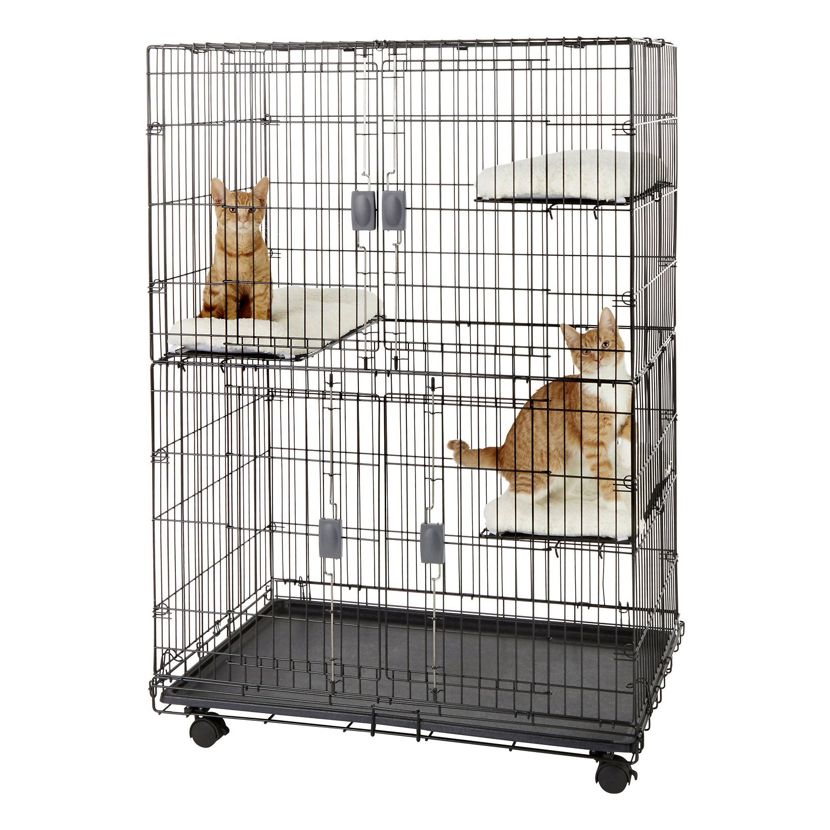 frisco-collapsible-wire-cat-cage-playpen