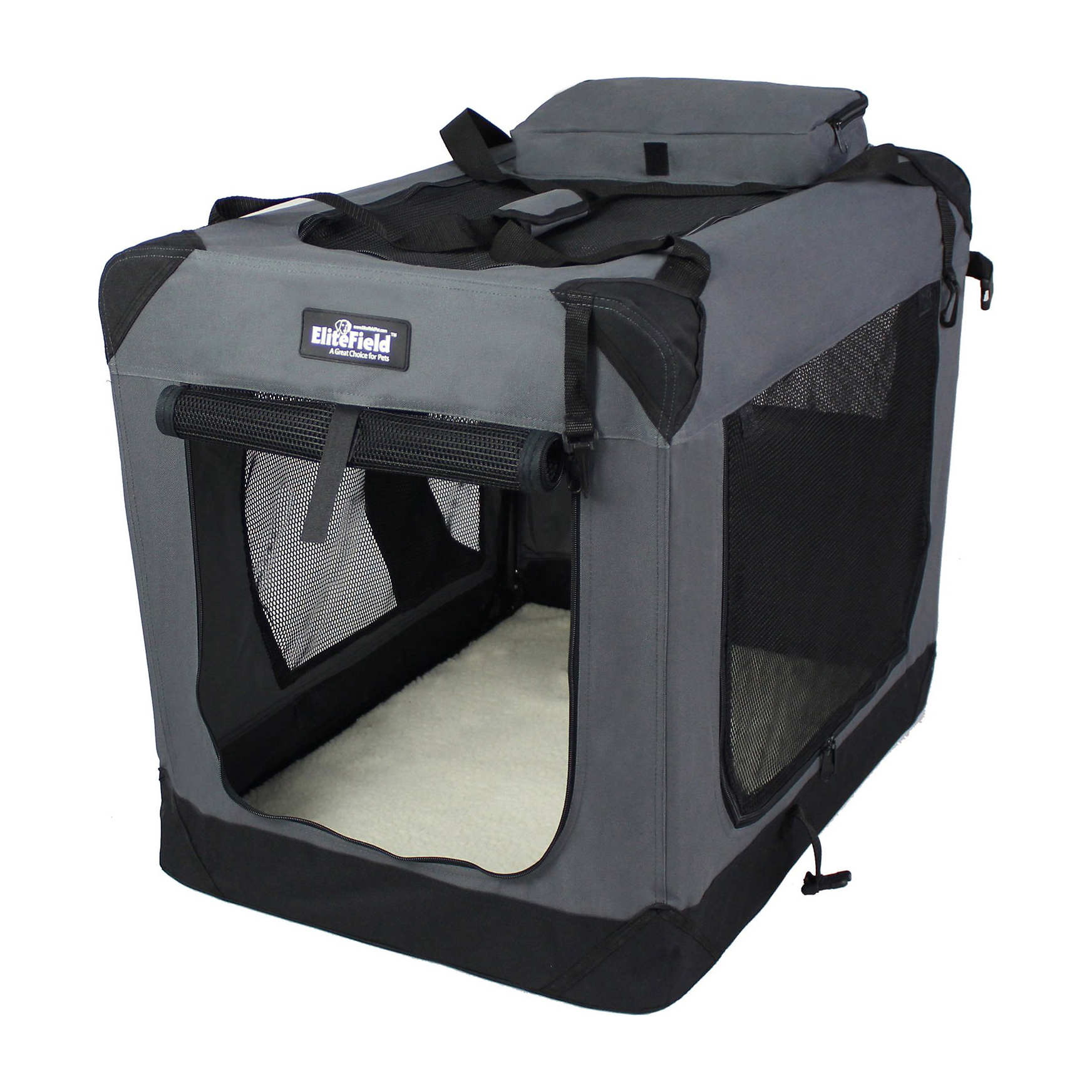 elitefield-3-door-collapsible-soft-sided-dog-crate