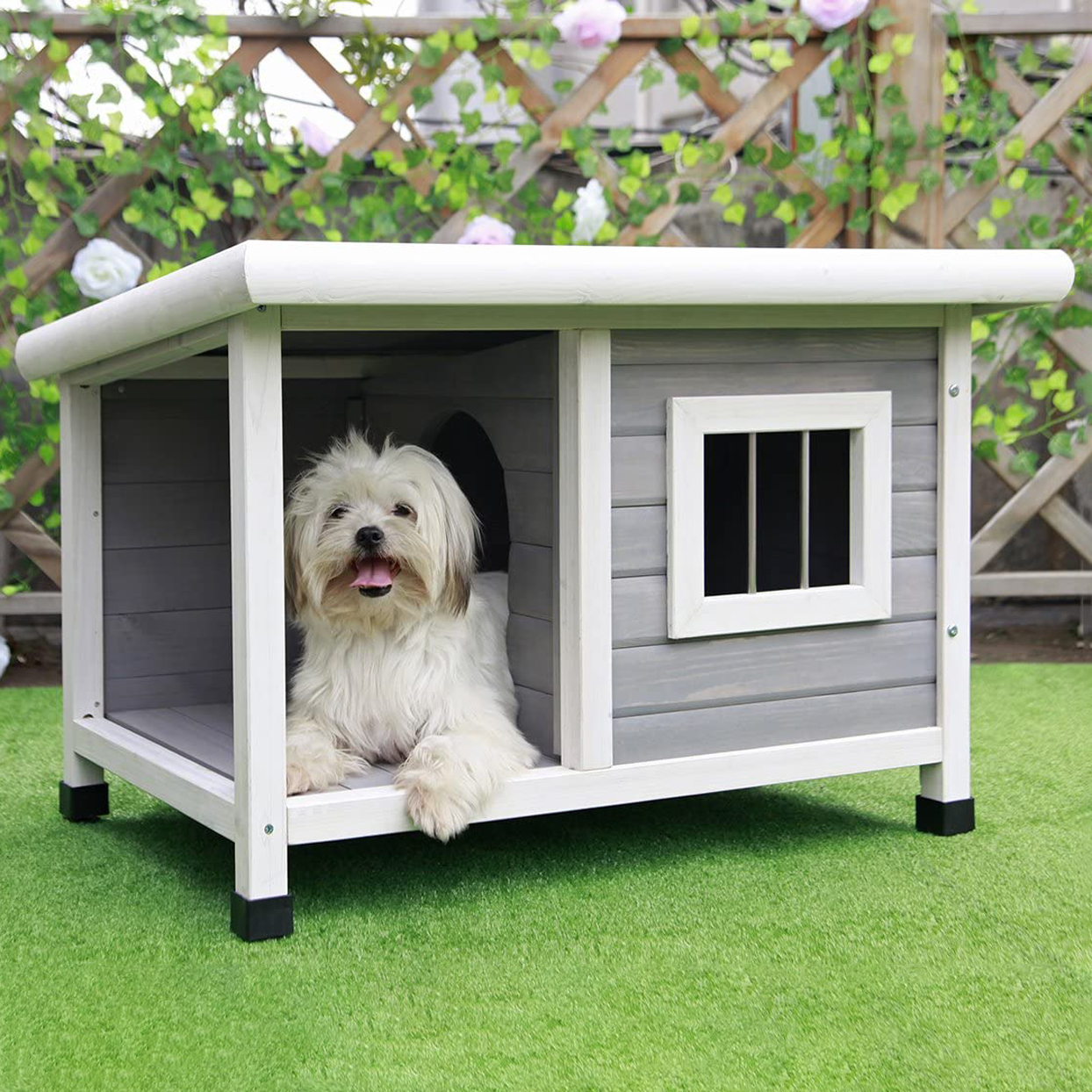 petsfit-outdoor-wooden-dog-house