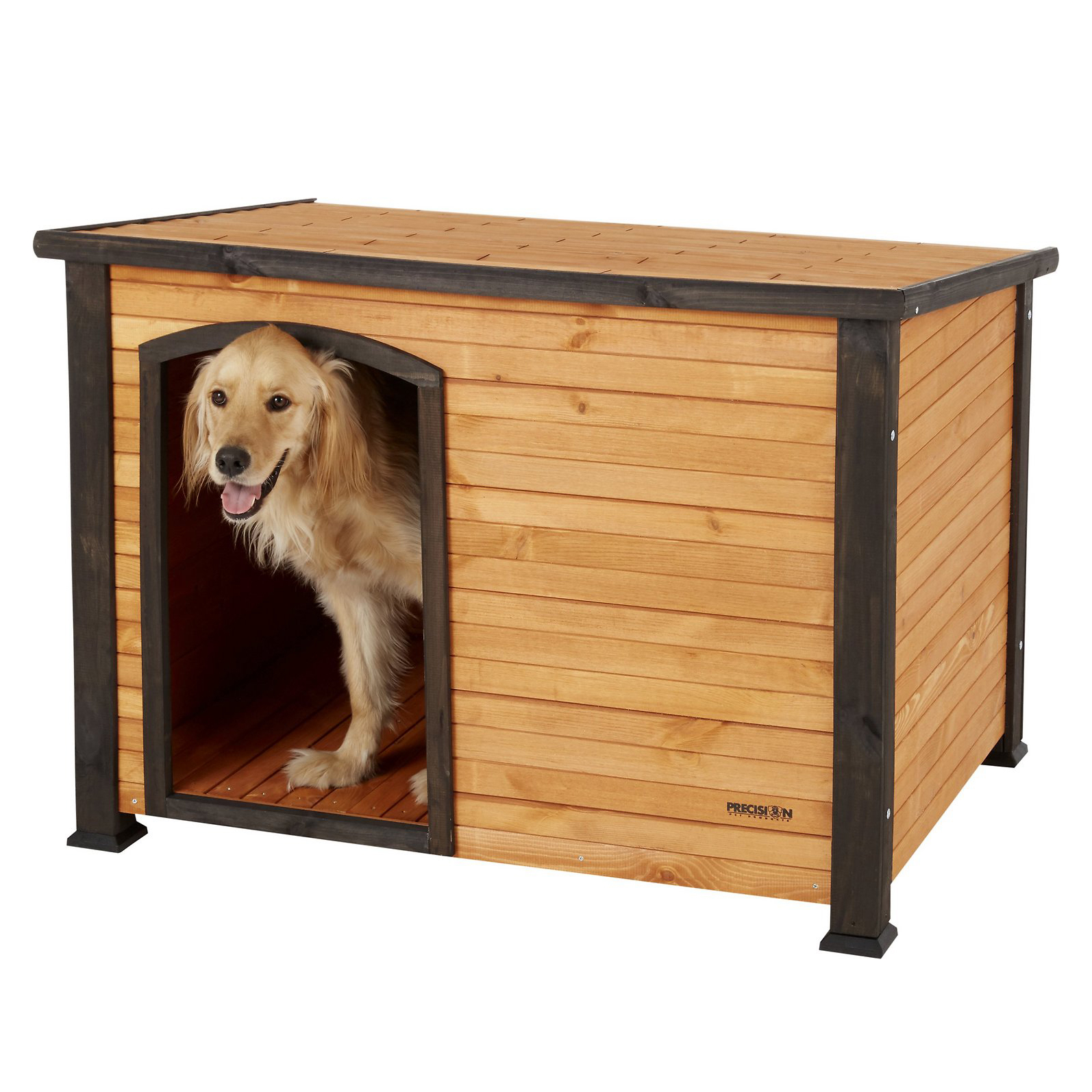 precision-pet-products-outback-log-cabin-dog-house