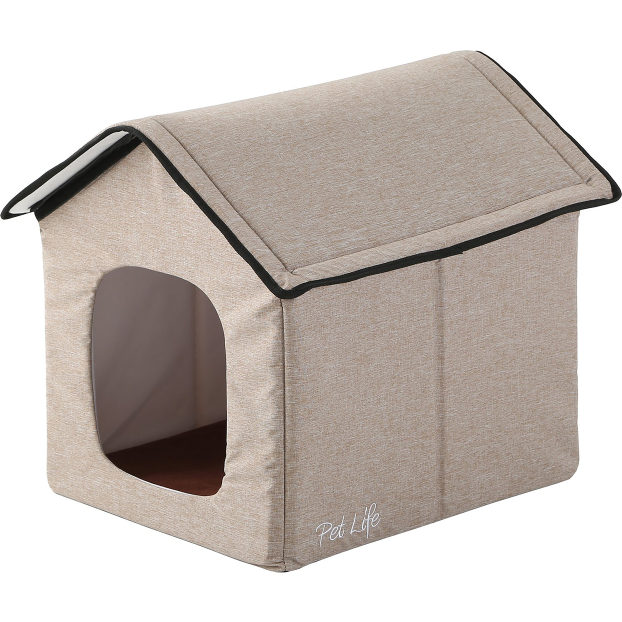 pet life electronic heated dog house