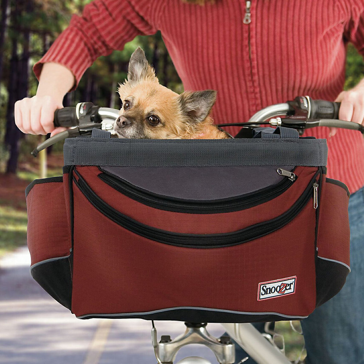 snoozer-sporty-bike-pet-basket