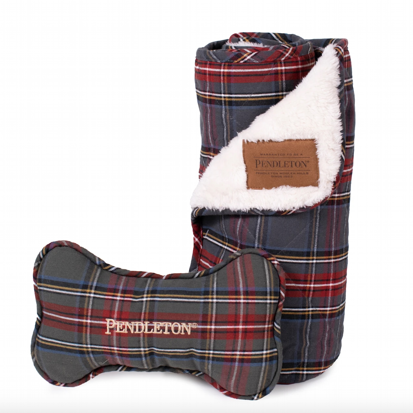 pendleton-plaid-pet-throw-and-bone-combo-set