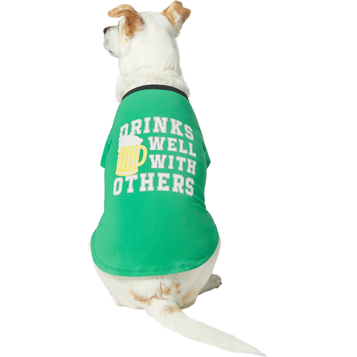 drinks well with others dog shirt