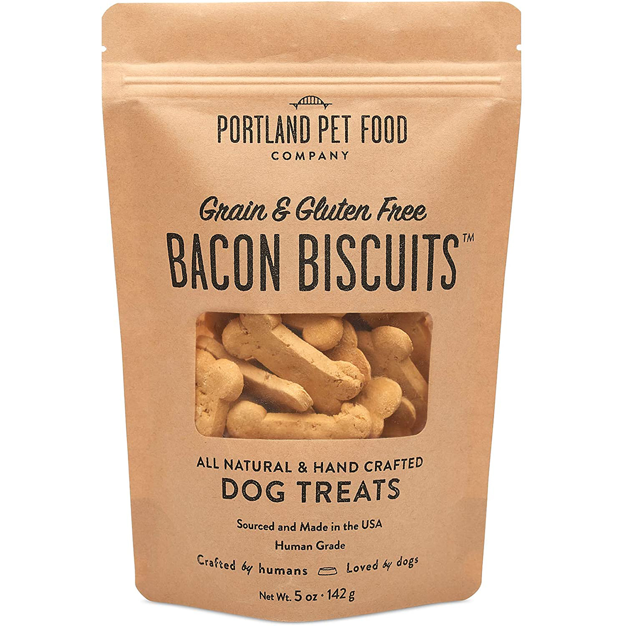 bacon dog biscuit