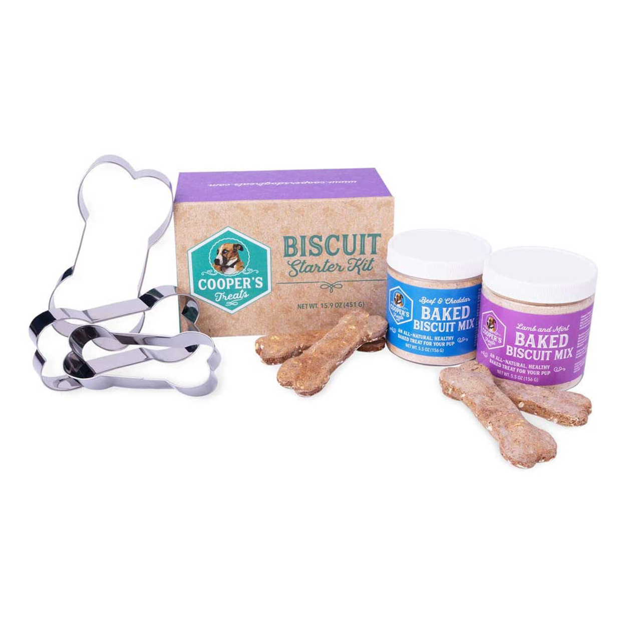 coopers treats homemade dog biscuits