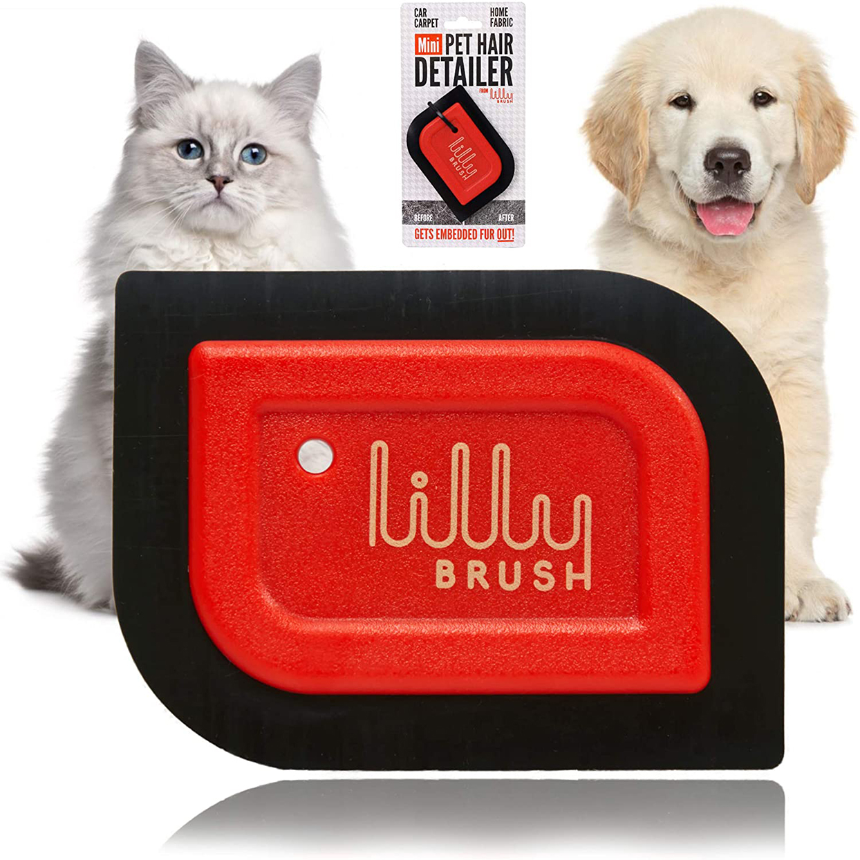 lilly brush mini pet hair remover