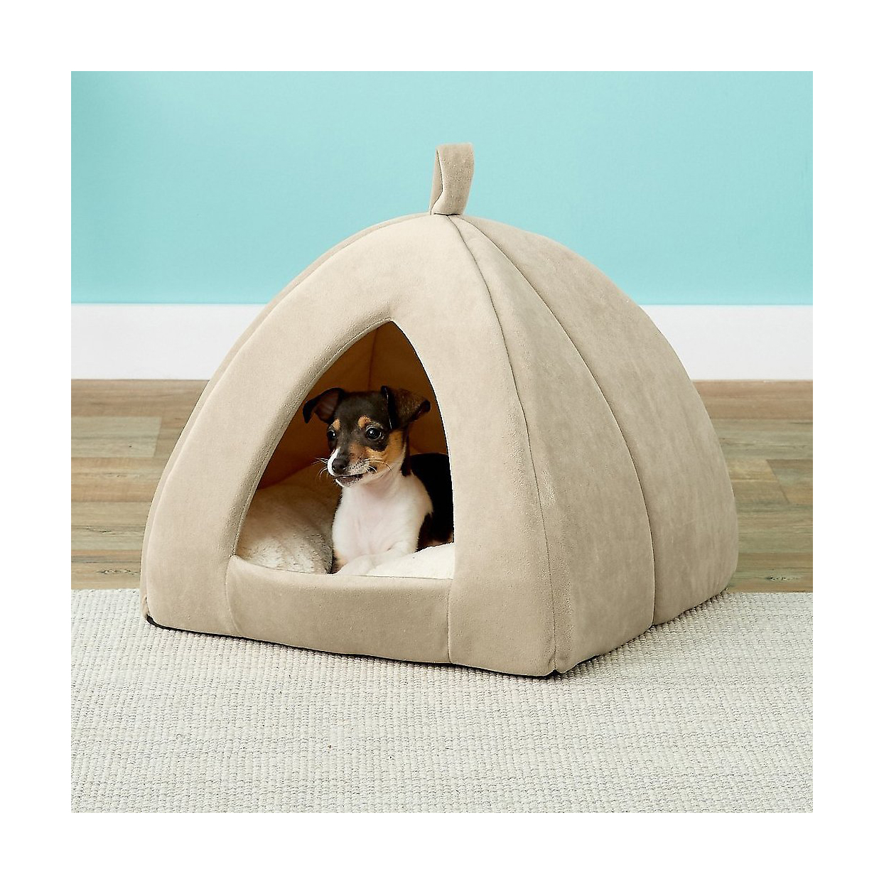 Frisco tent covered dog bed