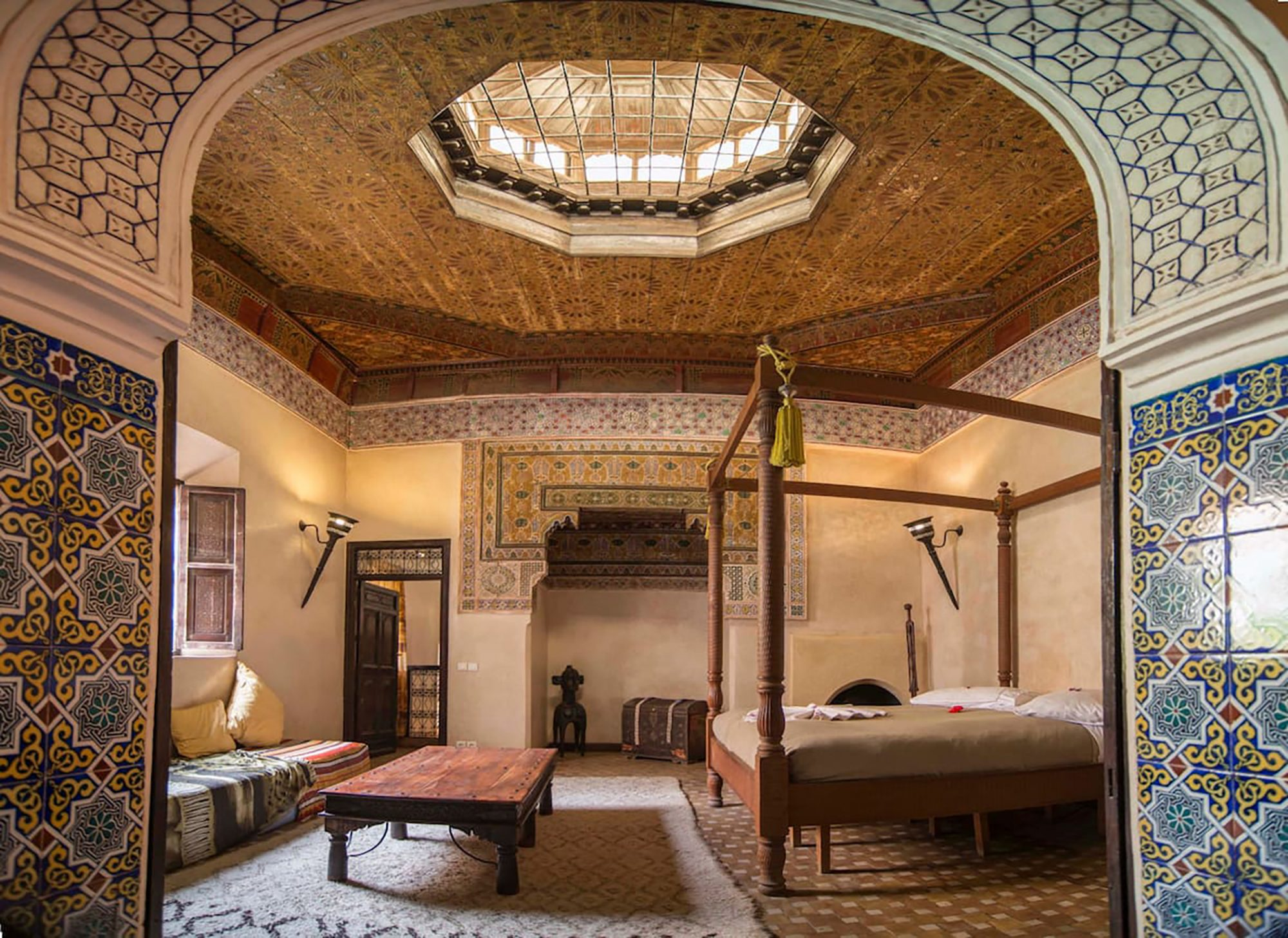 Picture of historical Moroccan Airbnb