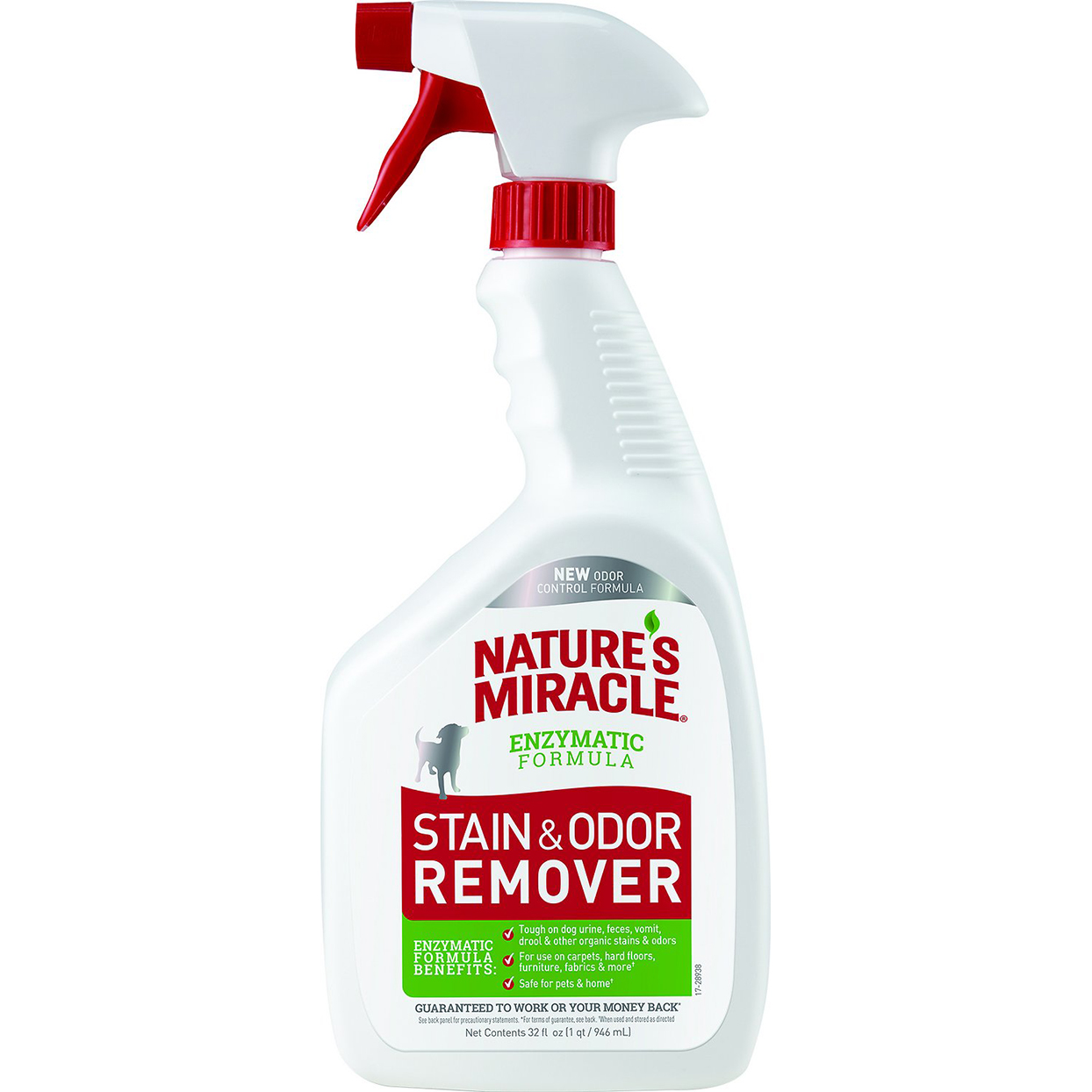 natures miracle stain odor remover