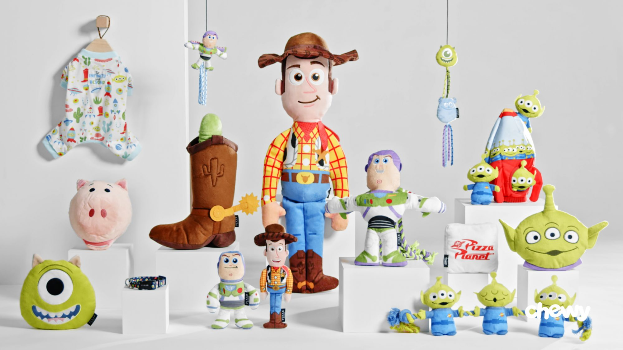 Pixar collection at Chewy
