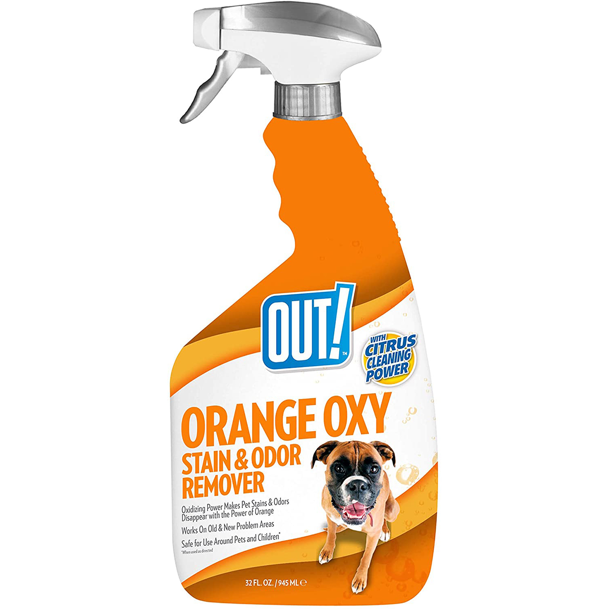 out orange oxy stain odor remover