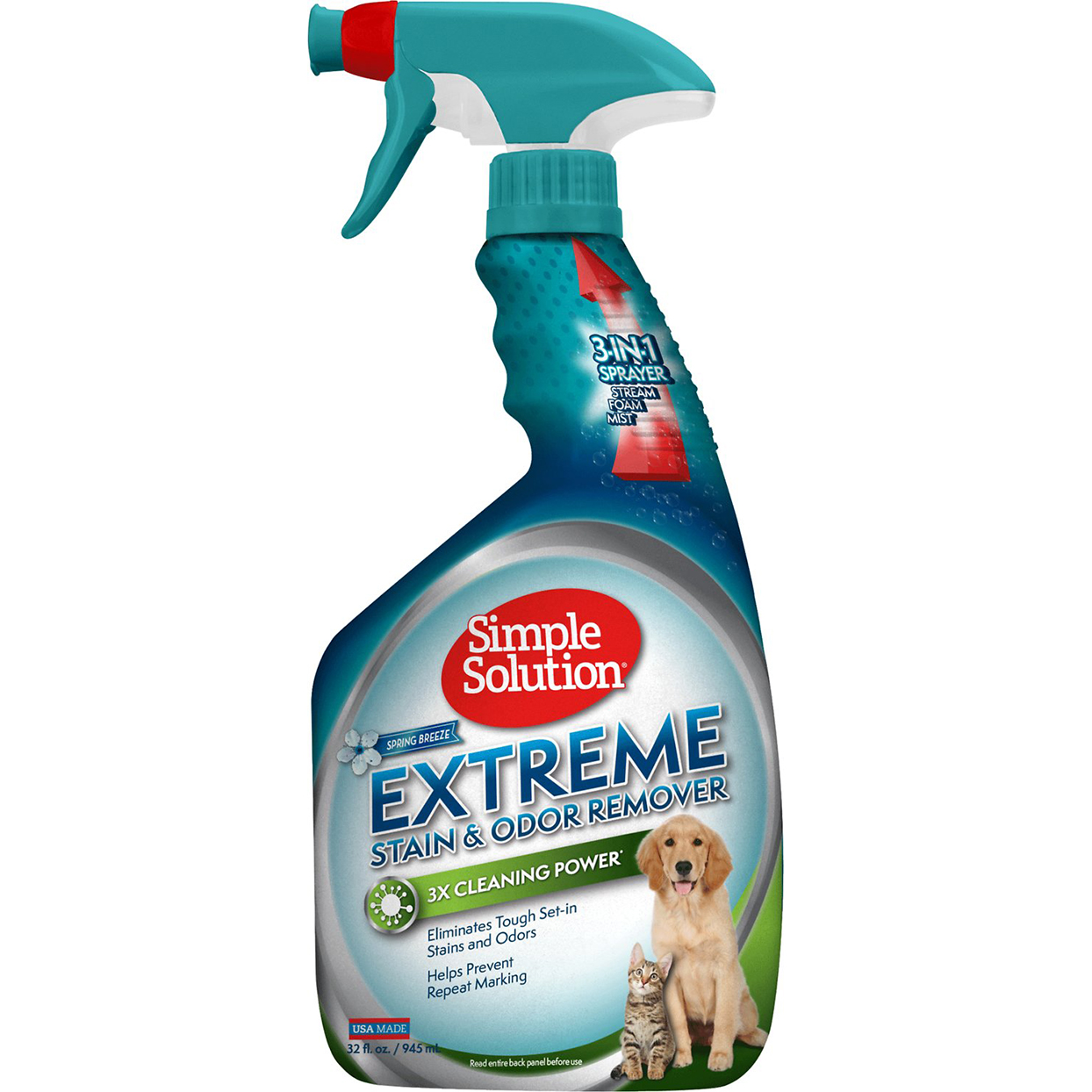 simple solution pet stain remover