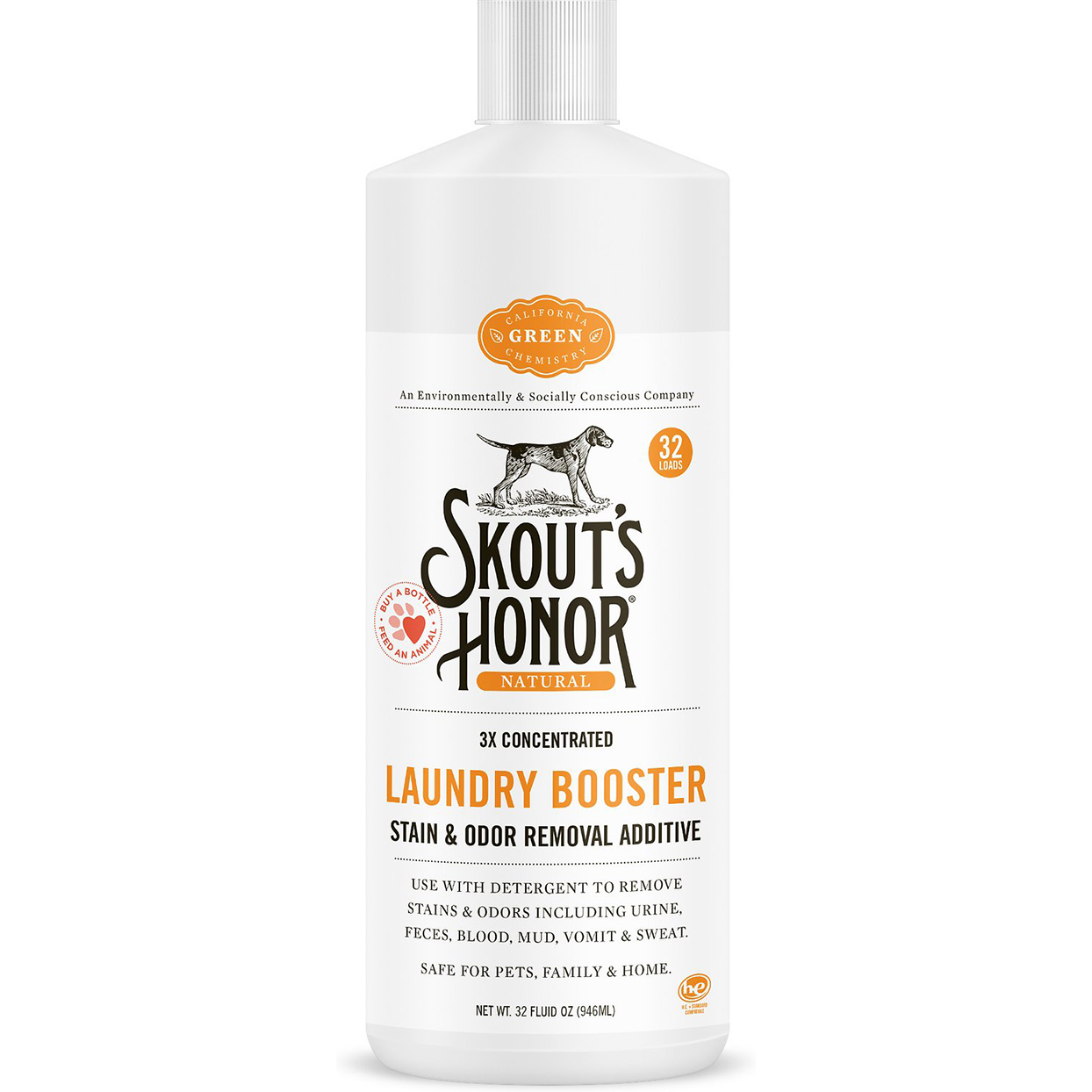 skouts honor laundry booster stain removal