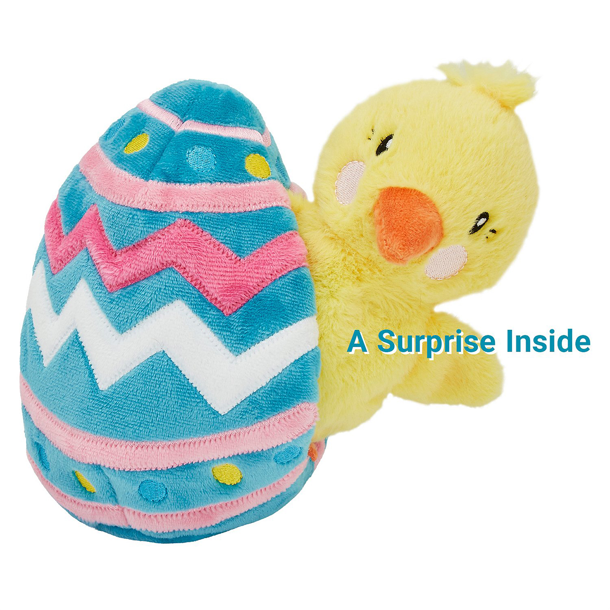 easter egg dog toy