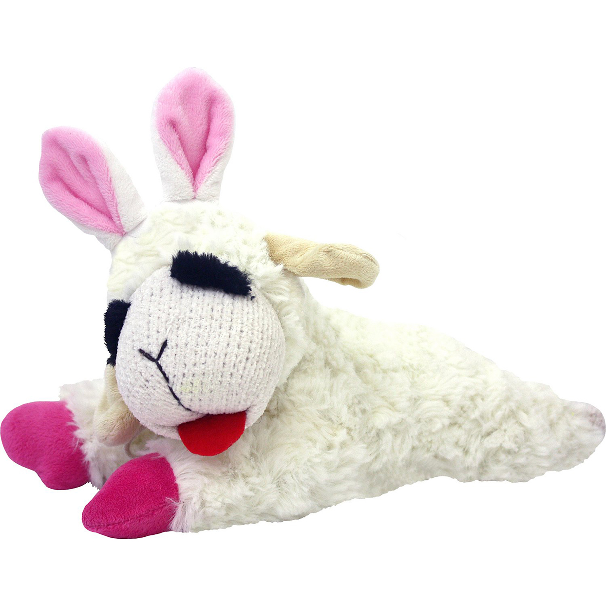lamb chop easter dog toy