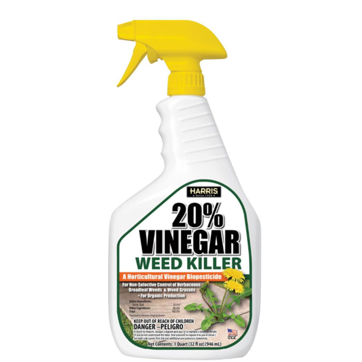 Harris vinegar weed killer
