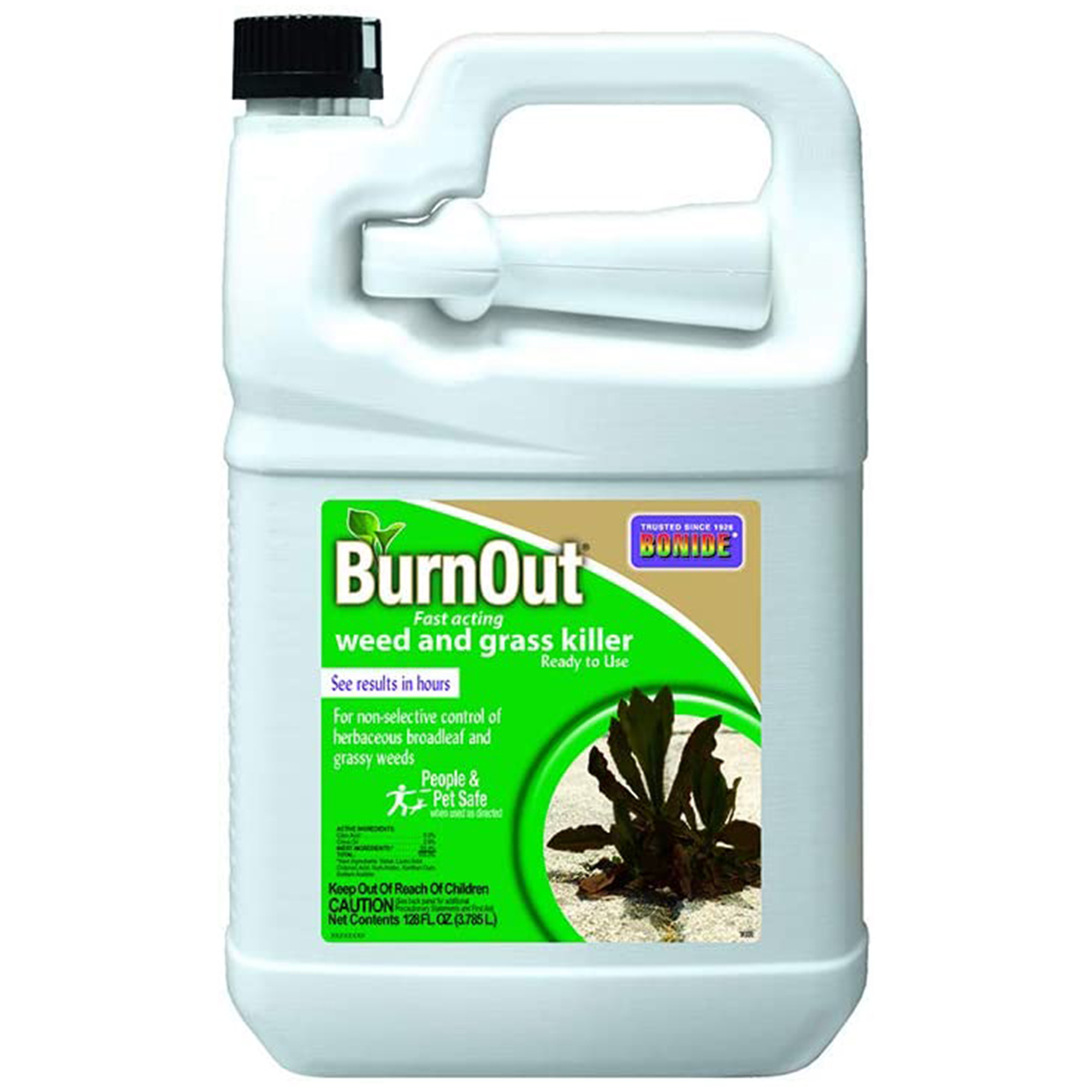 burnout weed killer