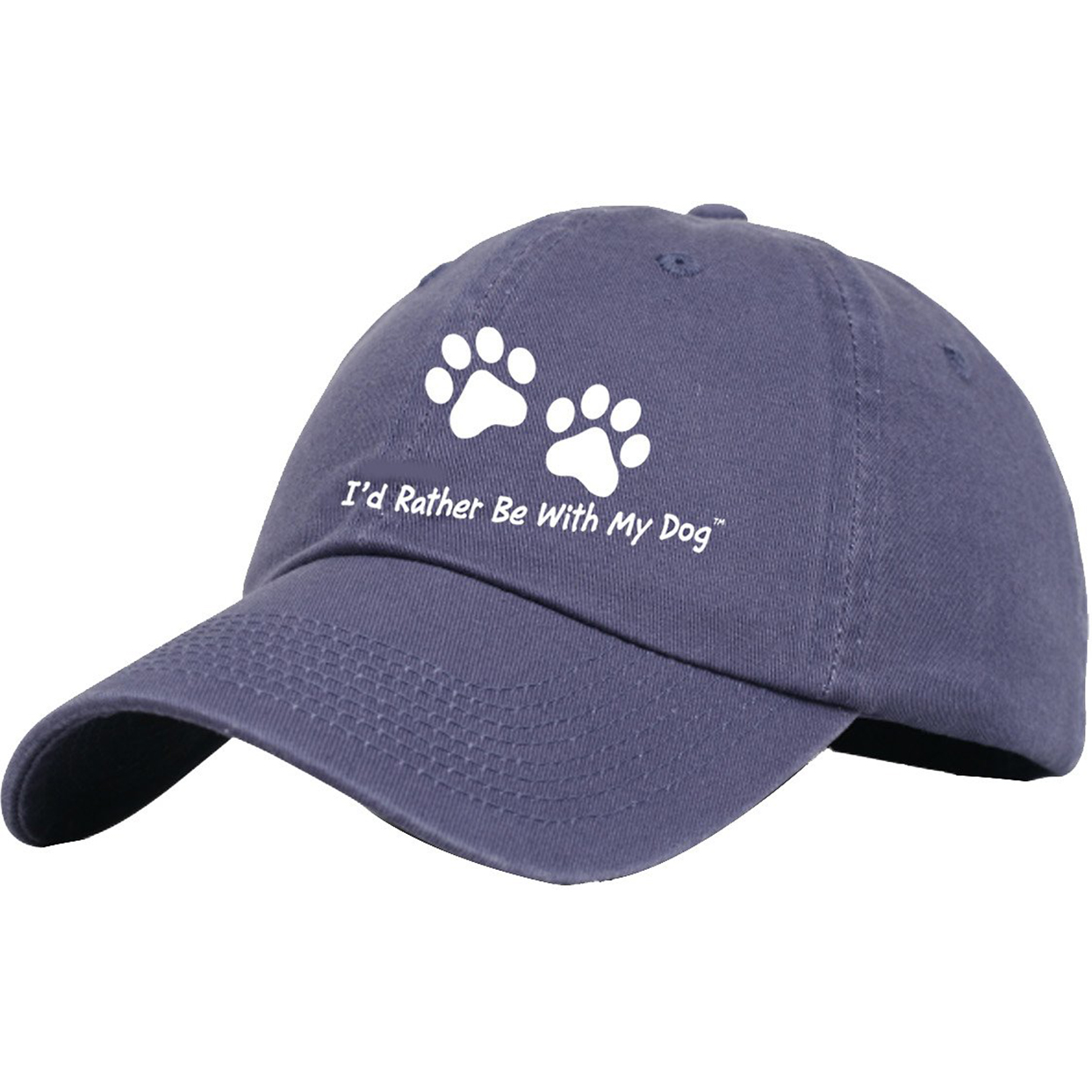 I'd rather be with my dog baseball cap