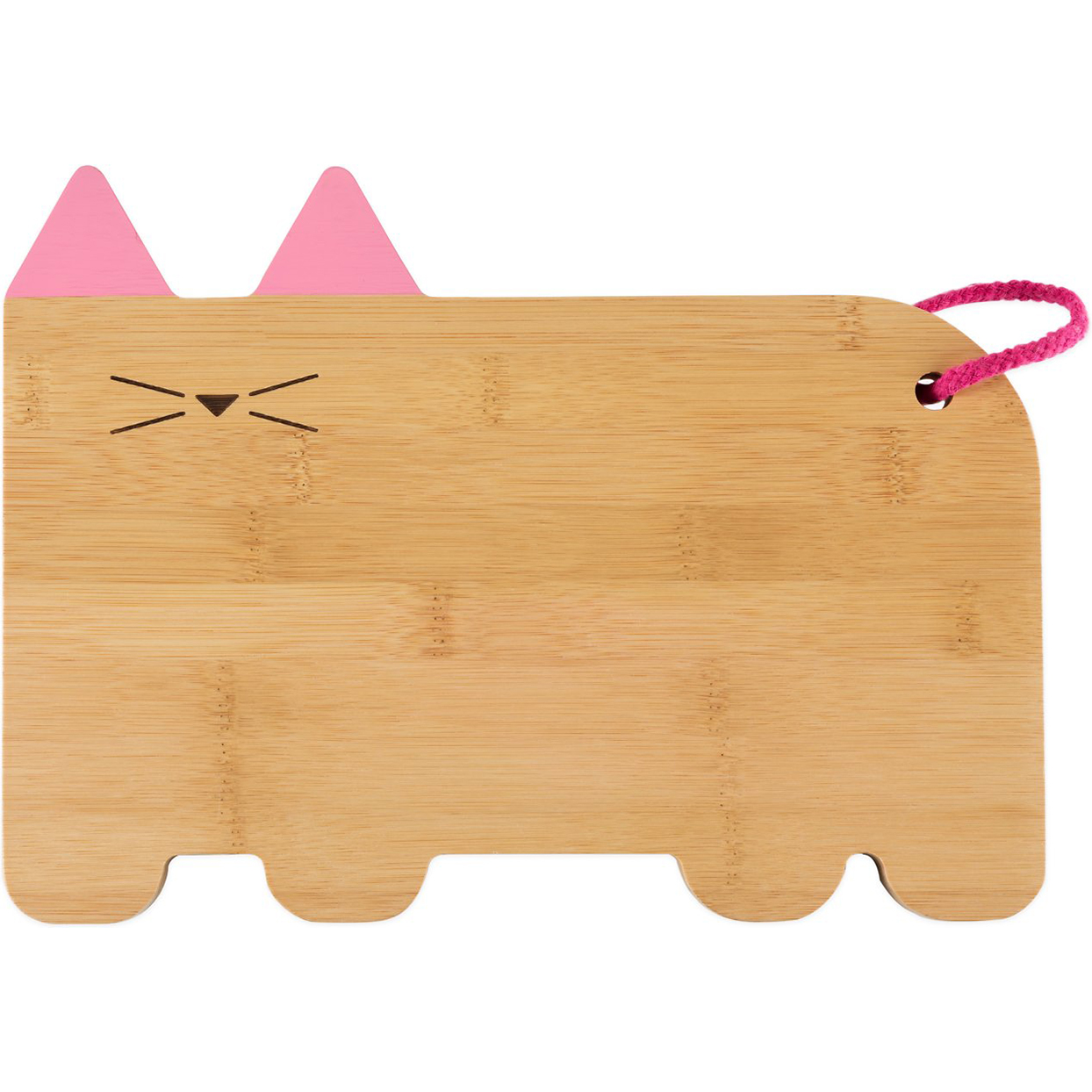 True zoo cat cheeseboard