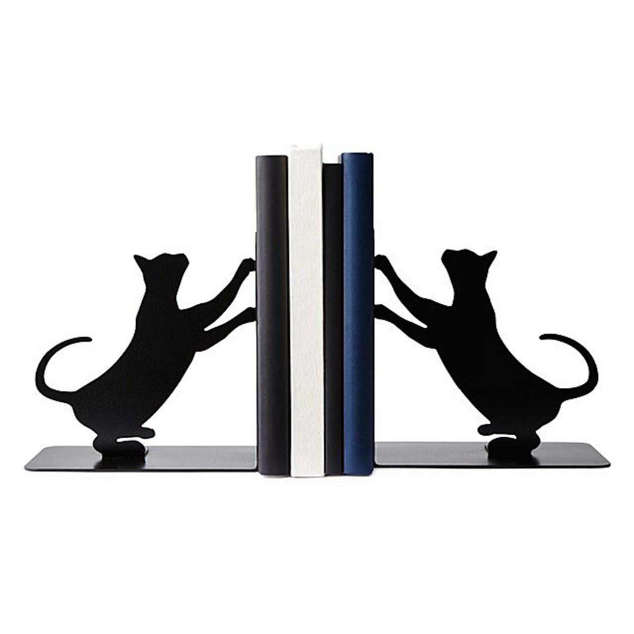 cat scratch bookends