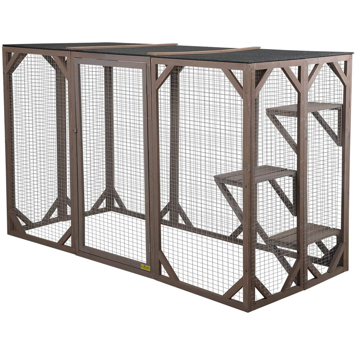 Large wooden catio