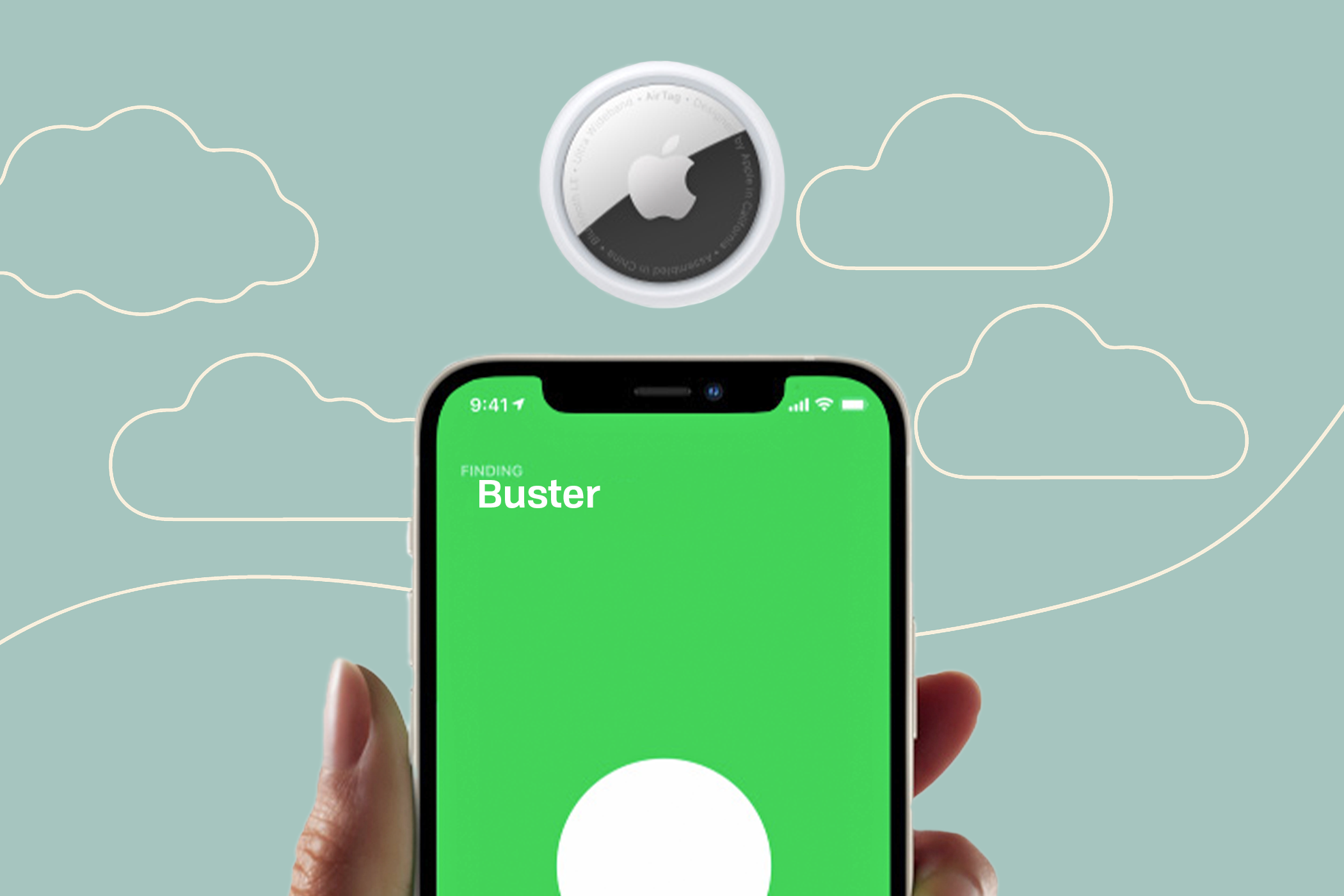 using Apple's Airtag to find your dog