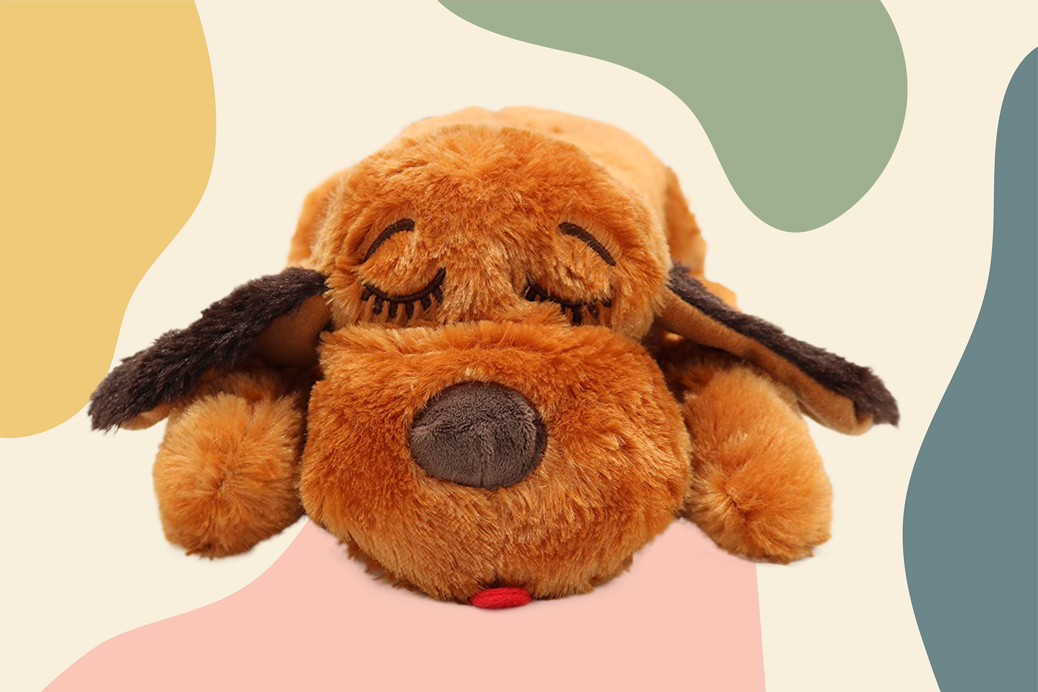 snuggle puppy toy to comfort dogs