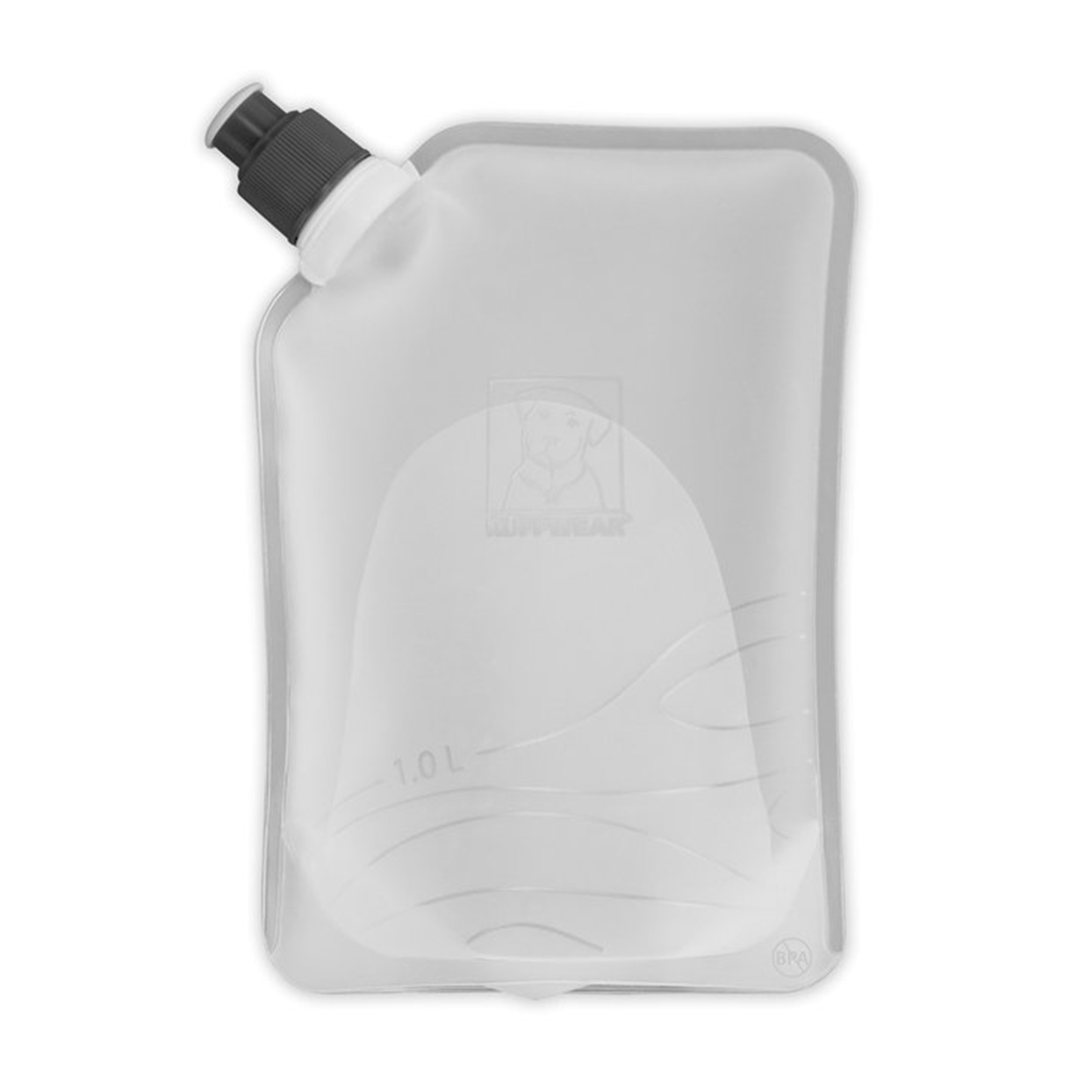 clear collapsible water bottle