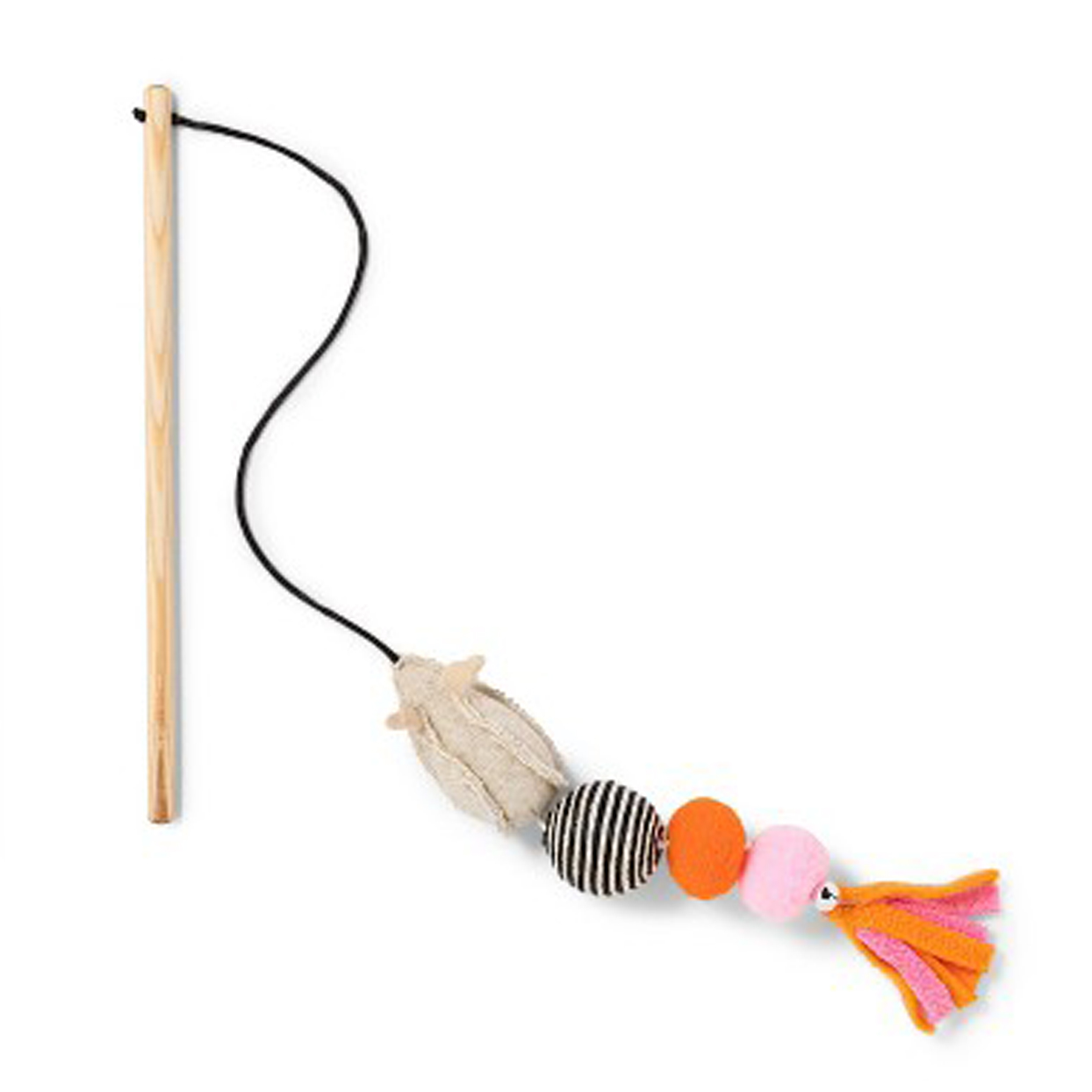 Boots & Barkley Wand Tassels The Mouse Cat Toy