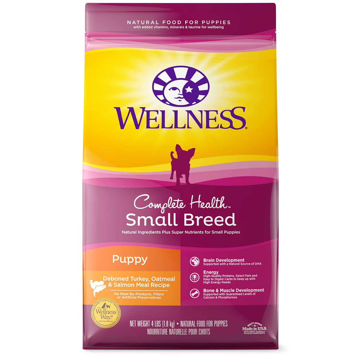 Wellness Complete Health Small Breed Puppy Food - Natural