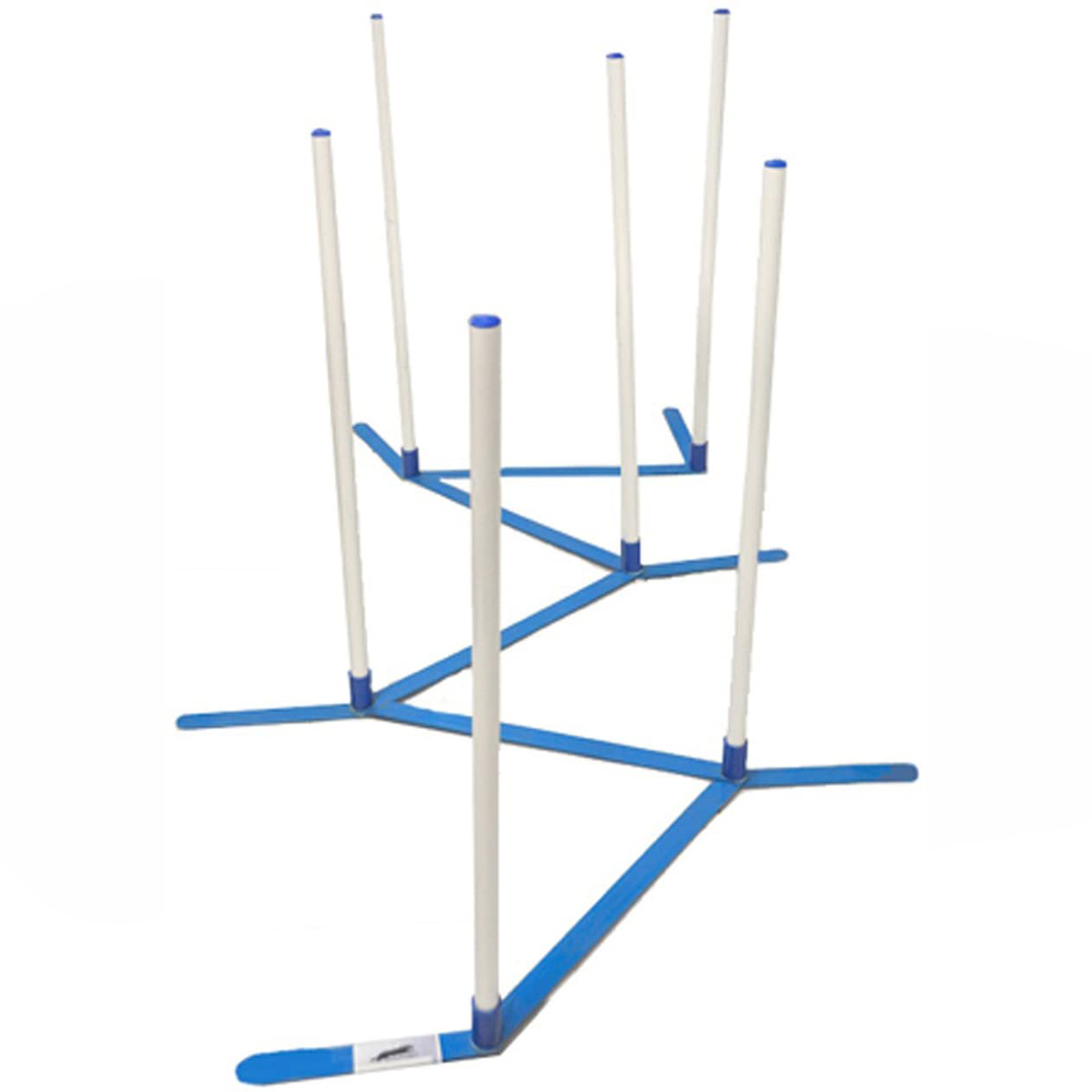 Cool Runners Agility Weave Poles Set