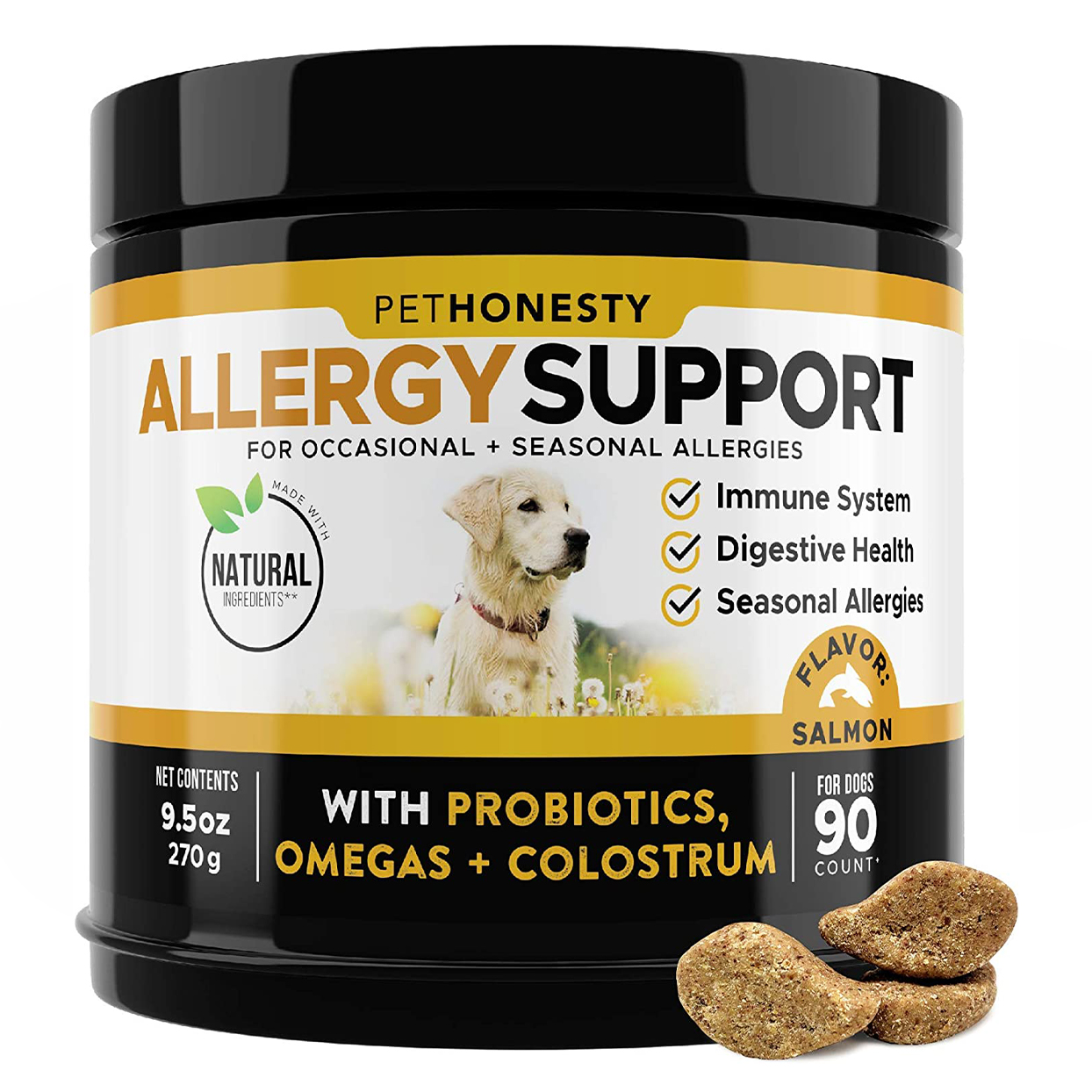 PetHonesty Allergy Support Supplement for Dogs