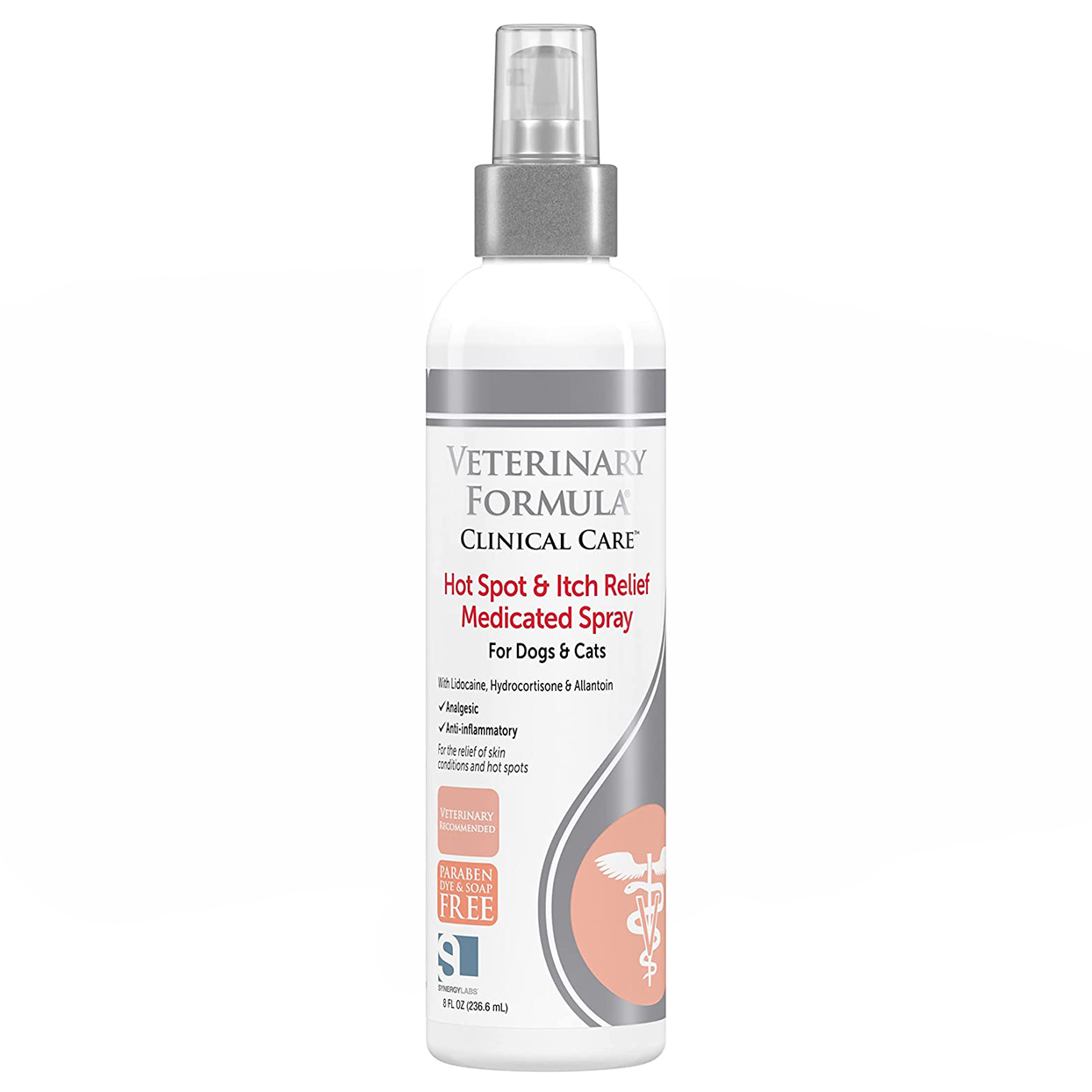 Veterinary Formula Clinical Care Hot Spot and Itch Relief Medicated Spray