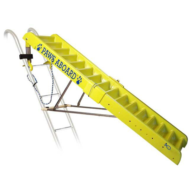 Photo of Ordonez Doggy Boat Pet Stairs against a white background