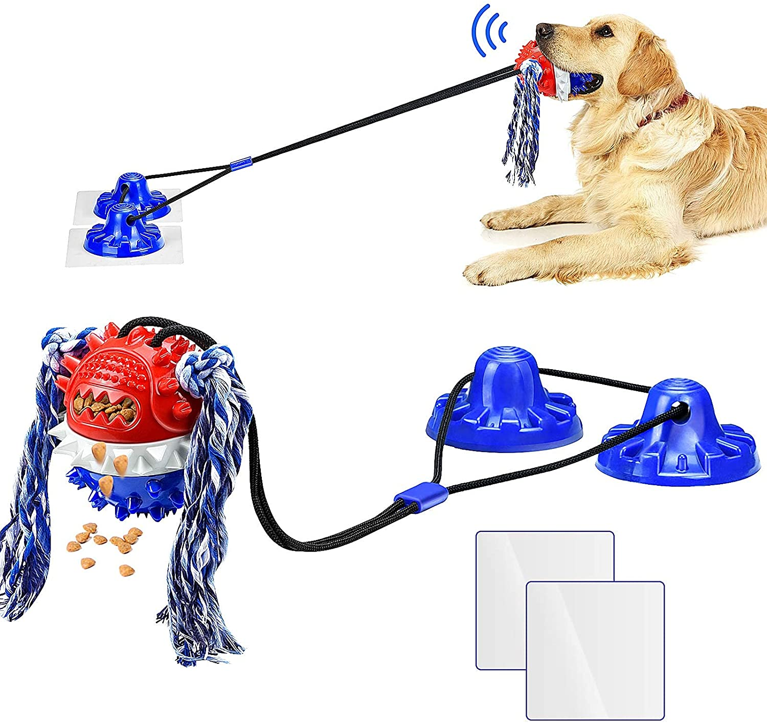 elopaw suction cup dog toy