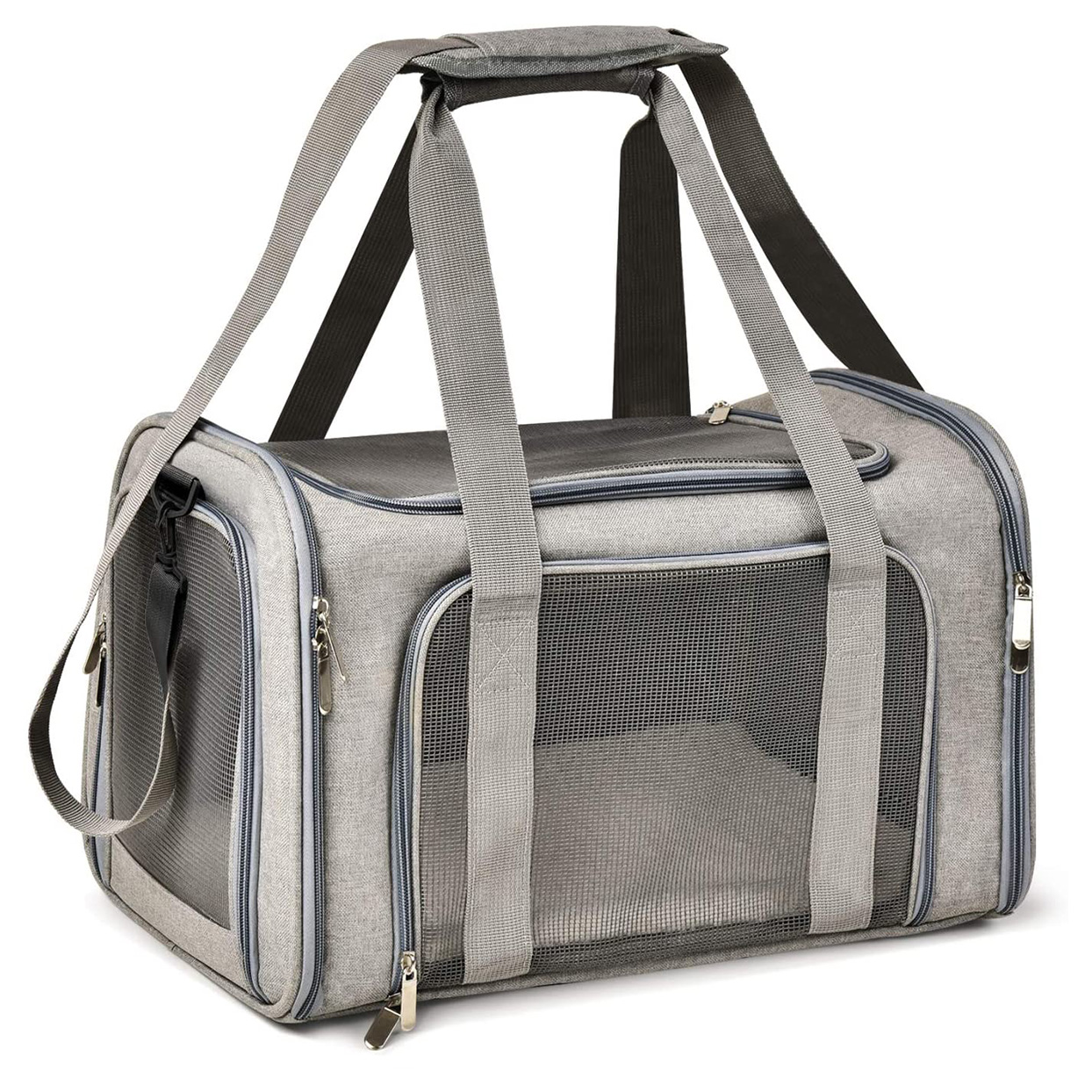 Henkelion Cat Carriers Dog Carrier Pet Carrier on a white background