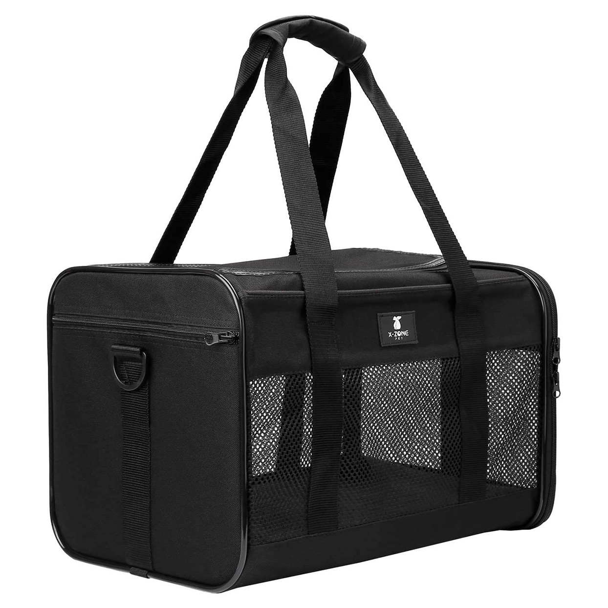 X-ZONE PET Foldable Soft Airline Approved Pet Travel Carrier on a white background