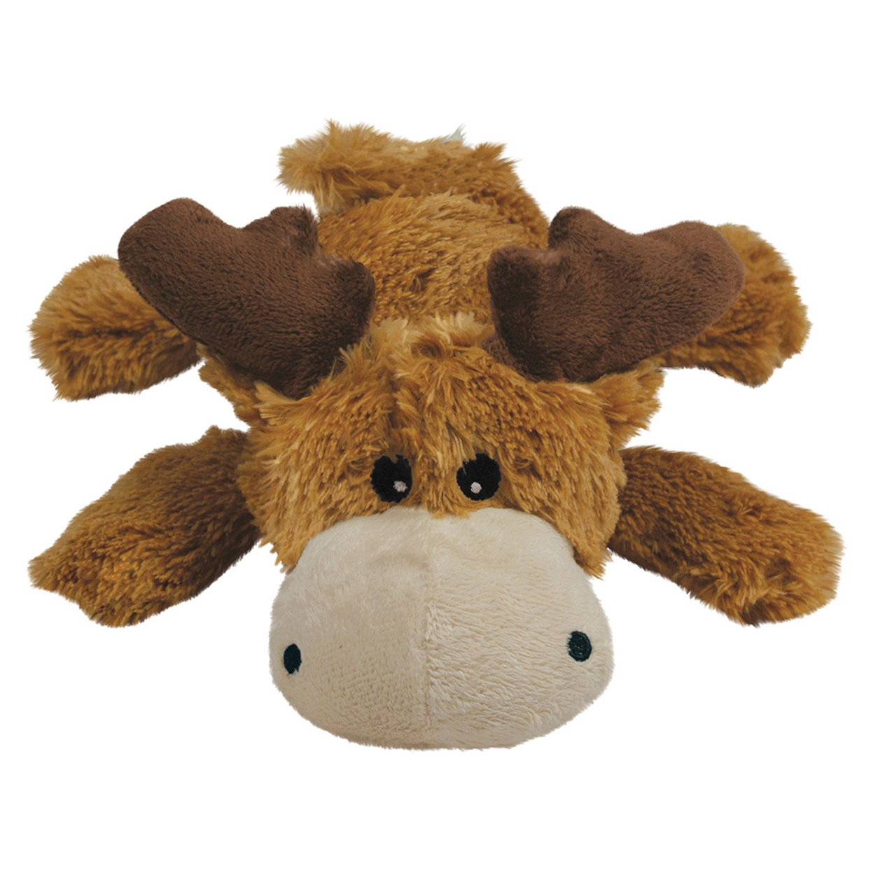 Kong Cozie Marvin the Moose Plush Dog Toy on a white background