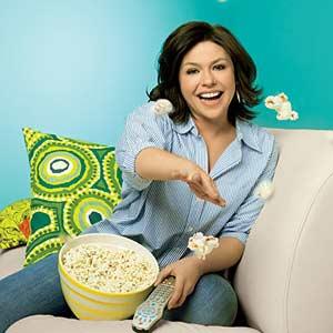April 2009 Rachel with Popcorn
