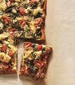 artichoke tomato spinach pizza