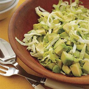 Avocado Salad with Cumin-Lime Dressing