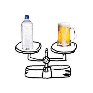 Beware of alcohol!